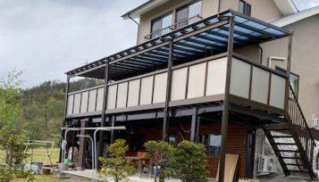 屋根付きバルコニー設置工事 サムネイル